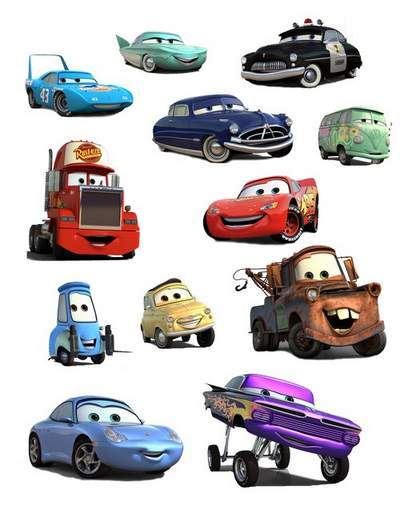 Cars clipart psd. Cartoon disney free file