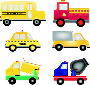 Vehicles image cartoon trucks. Cars clipart school