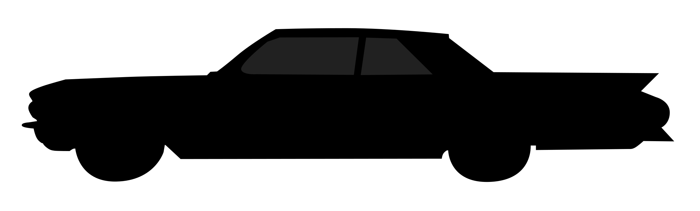 Clipart cars silhouette. Old car big image