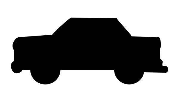 Free silhouette at getdrawings. Car clipart shadow