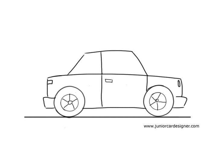 collection of simple. Clipart cars easy
