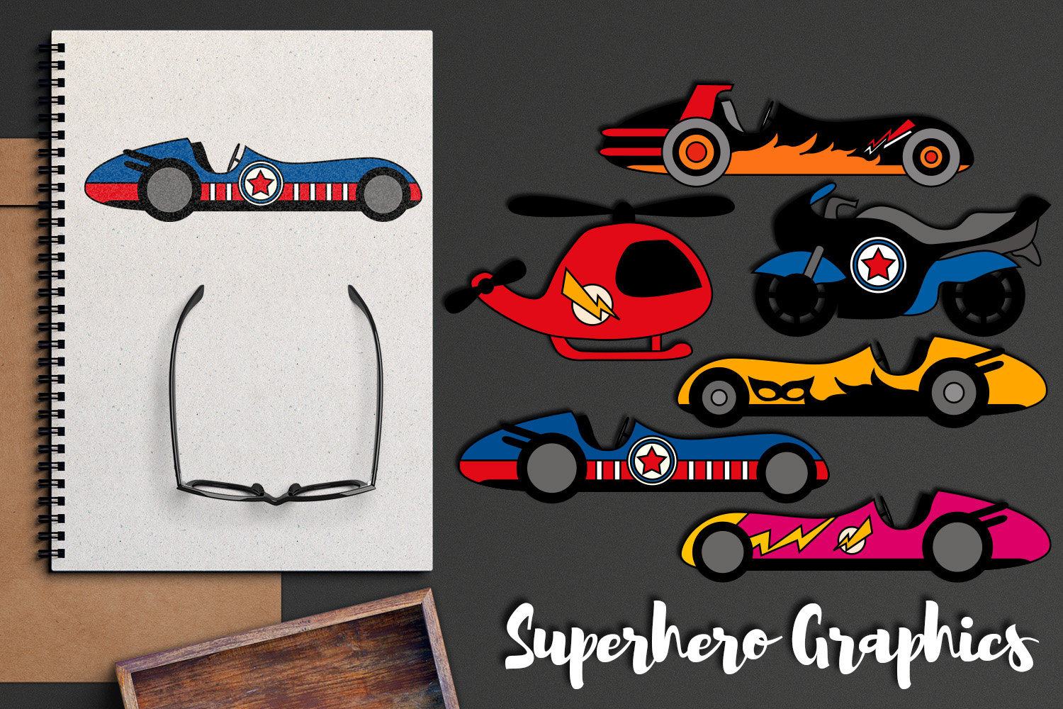Clipart cars superhero. Transportation race and motorcycles