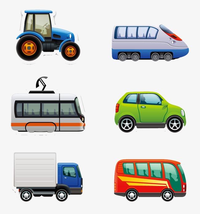 Transportation cartoon flat pattern. Cars clipart transporter