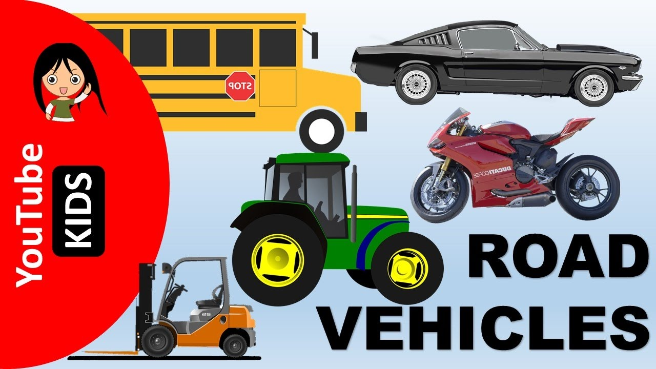 Cars clipart transporter. Learn road transport vehicles