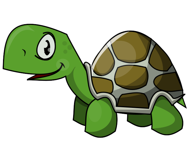 Clipart birthday turtle. This clip art is
