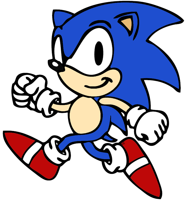 Clipart rose animated. Sonic the hedgehog clip