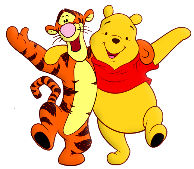Winnie the pooh and. Cartoon clipart