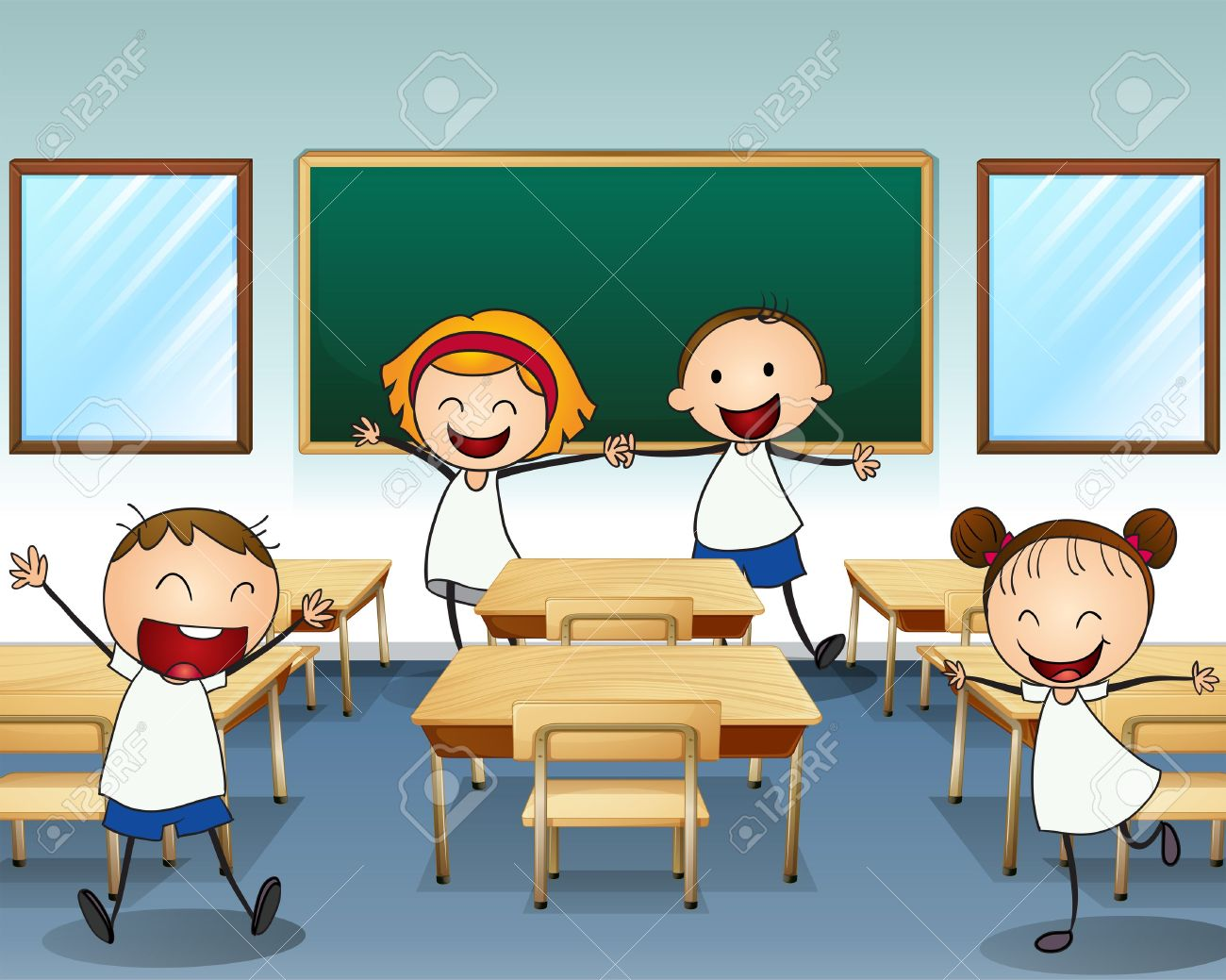 collection of my. Cartoon clipart classroom