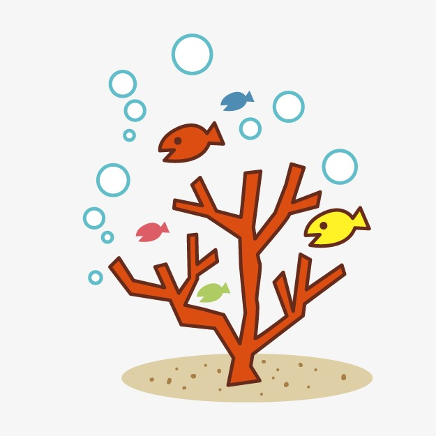 Cartoon clipart coral. Png image and for