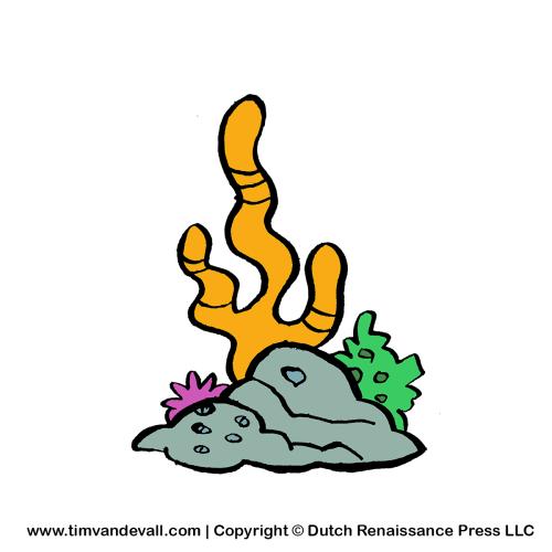 Cartoon coral