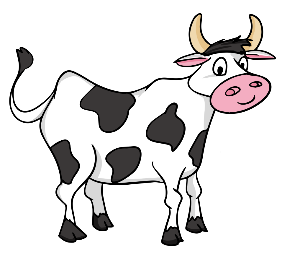 Cartoon clipartuse pick the. Picture clipart cow