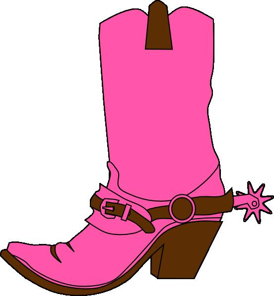 Cowboy boot dancing boots. Heels clipart hat