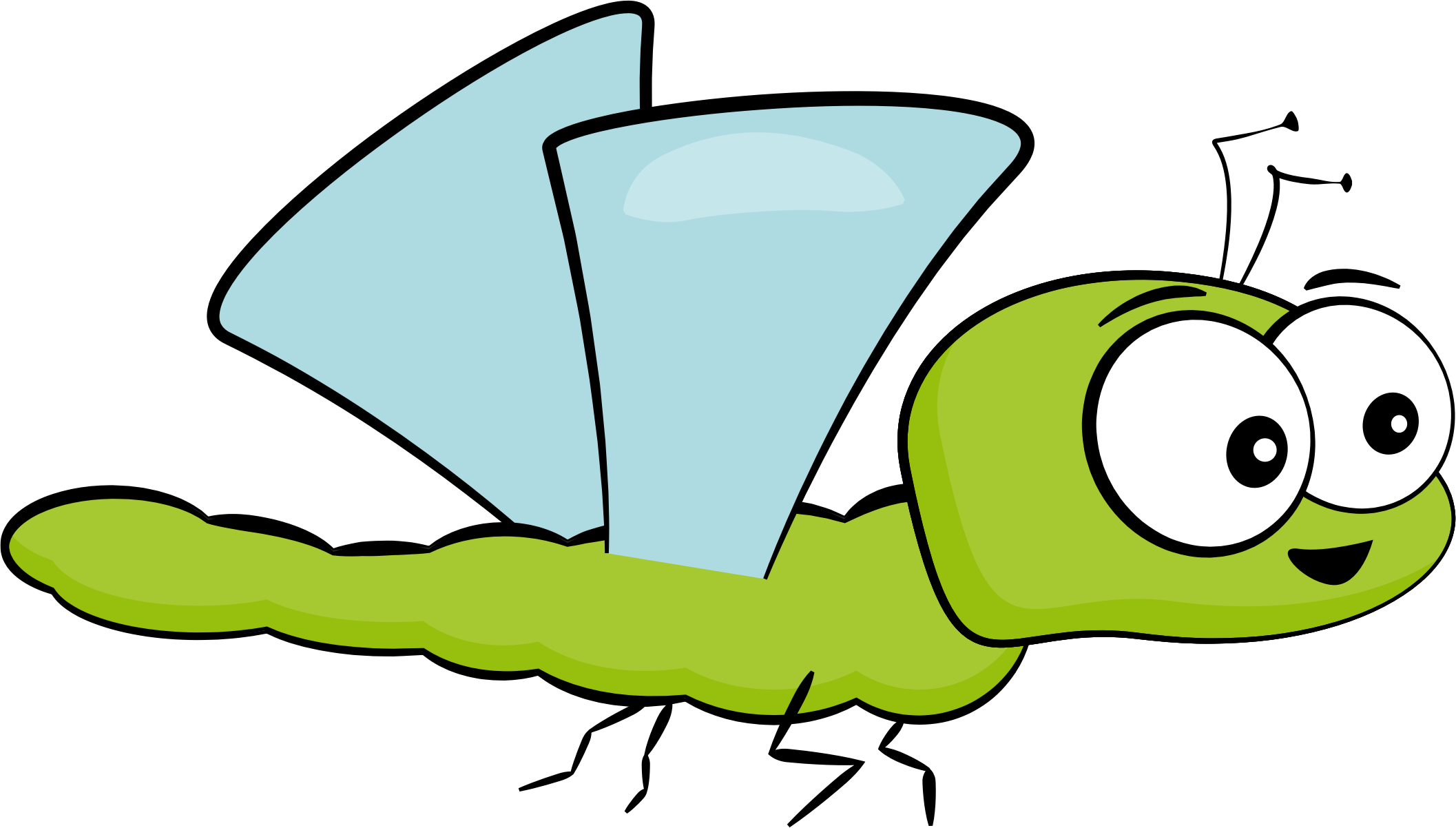 Dragonfly clipart insect. Cartoon big image png