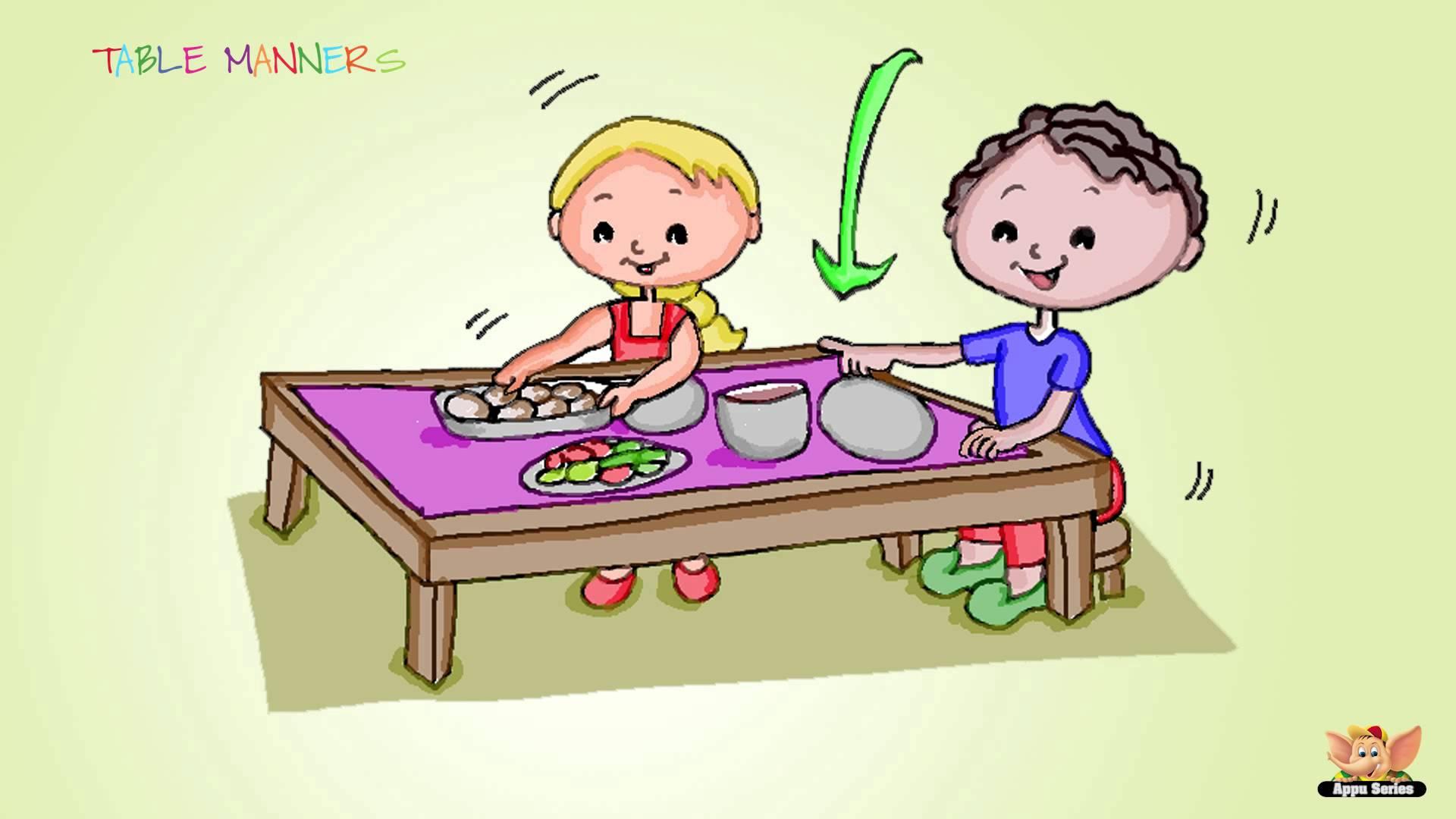 Cartoon clipart education. Family series learn table
