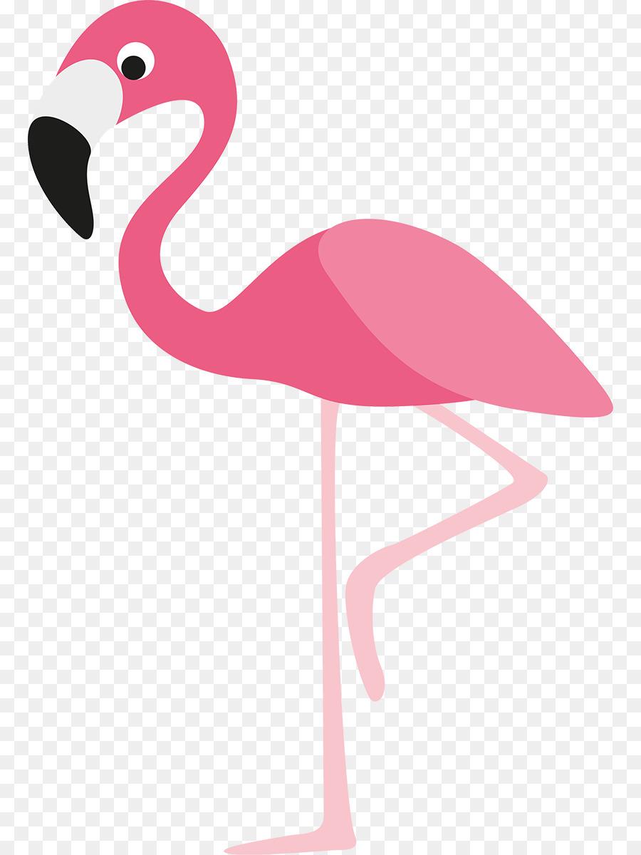 Royalty free clip art. Cartoon clipart flamingo