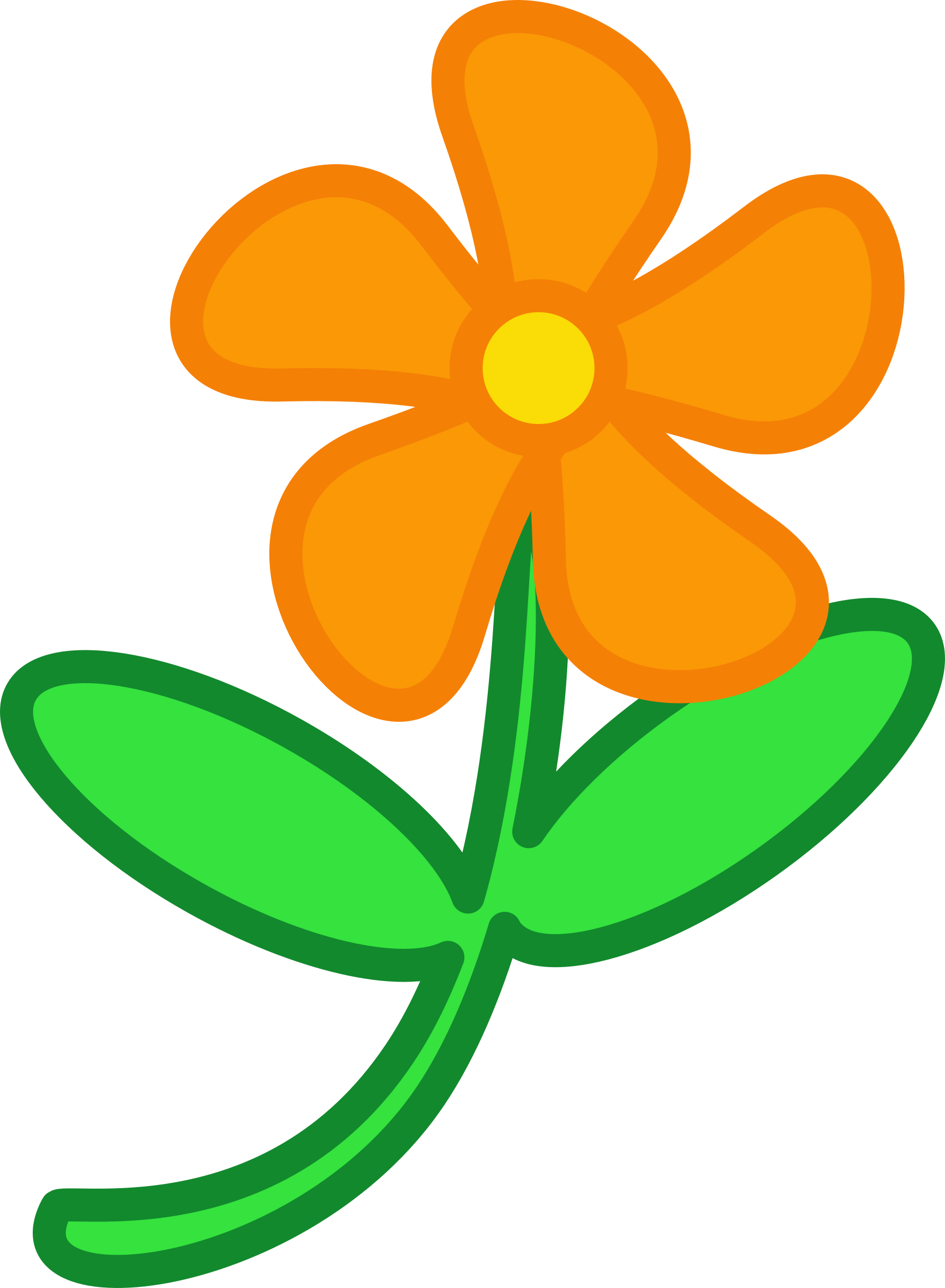 Clipart big image. Cartoon flower png