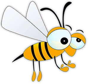 Cartoon clipart insect. Free gifs animations funny