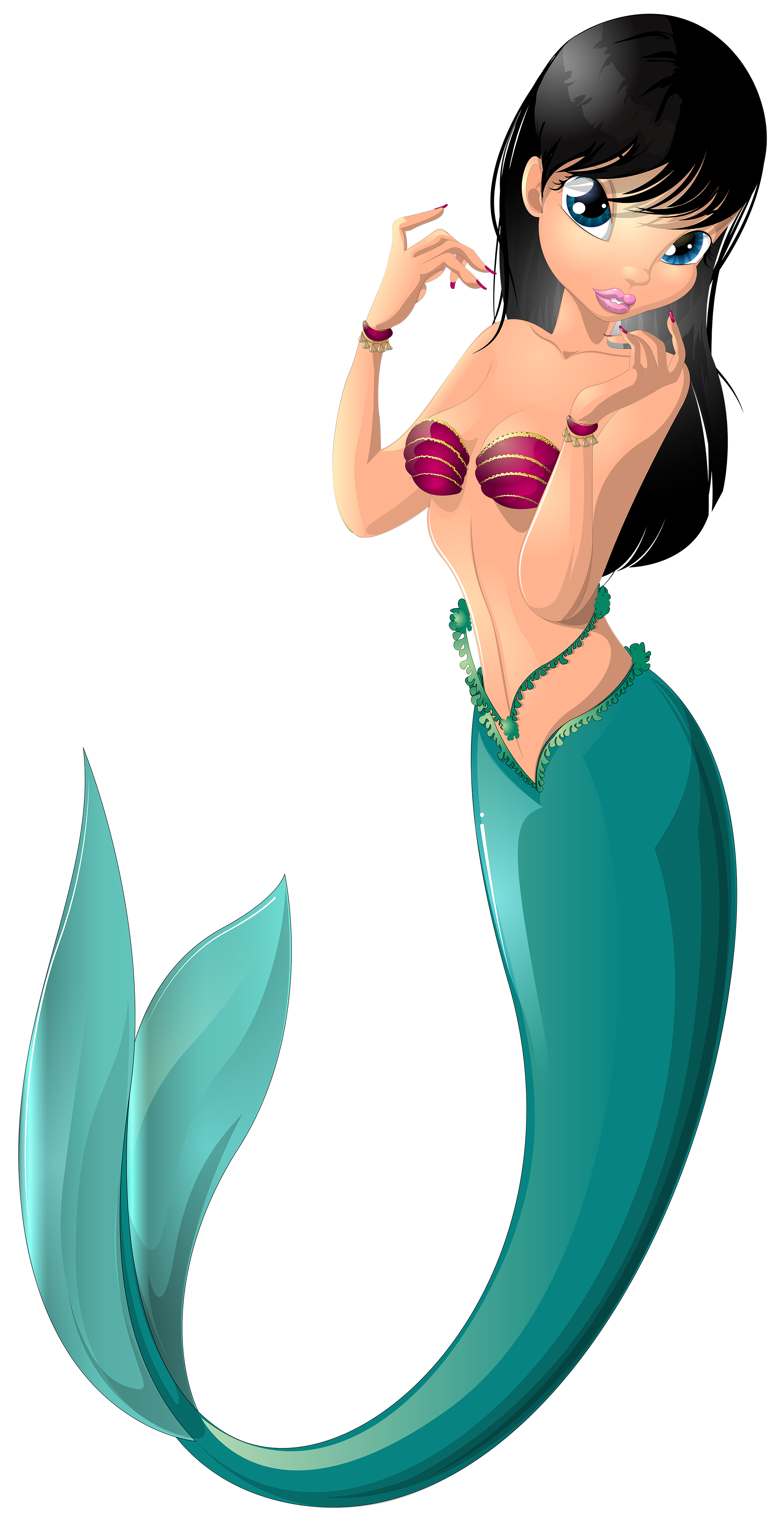 Png clip art image. Number 1 clipart mermaid