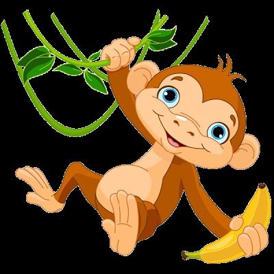Free cliparts download clip. Cartoon clipart monkey