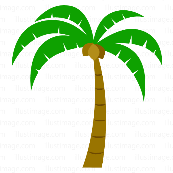 Free simple clip art. 2 clipart palm tree