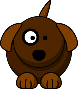 Clip art at clker. Dog clipart cartoon