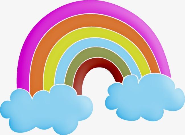 Cartoon clipart rainbow. Cute japanese png image