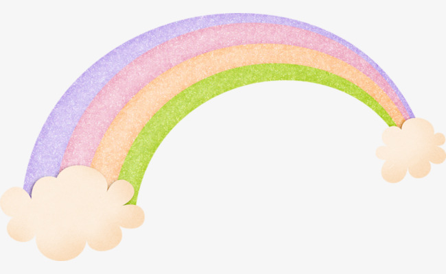Cartoon clipart rainbow. Creative clouds png image