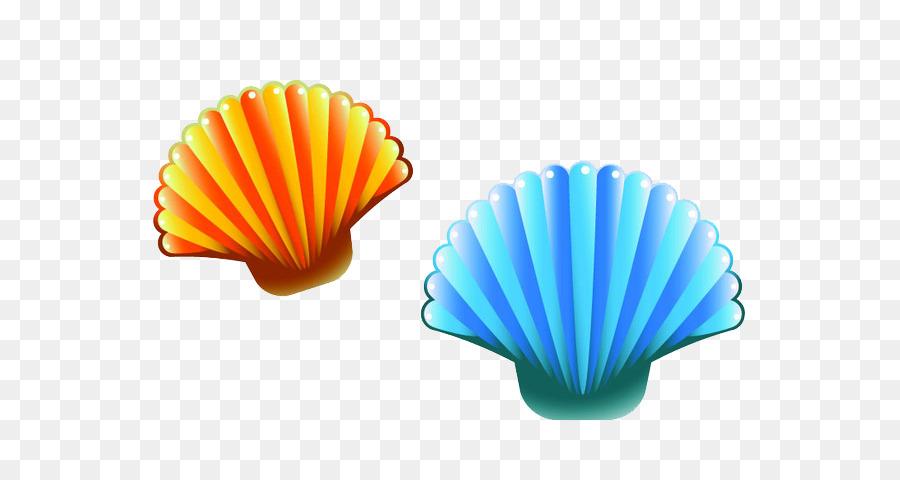 Cartoon clipart seashell, Cartoon seashell Transparent ...