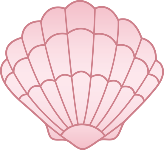 Shell clipart. Cartoon