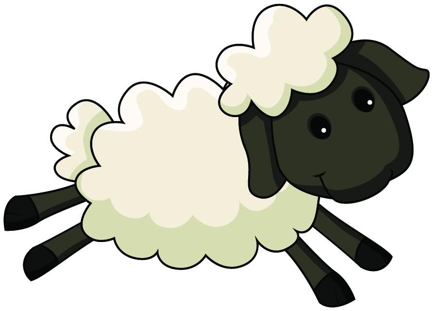 Lamb clipart animated. Free cartoon sheep download