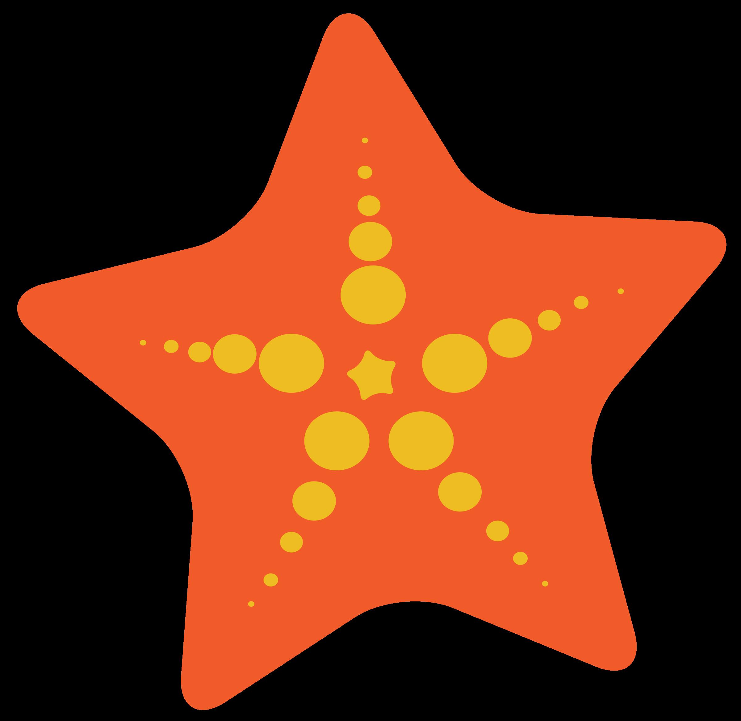 Top cartoon starfish clip. Shell clipart coral clipart