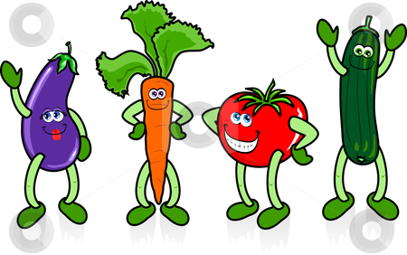 Vegetable clip art free. Clipart vegetables cartoon