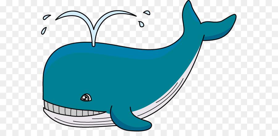 Cartoon clipart whale. Blue humpback clip art