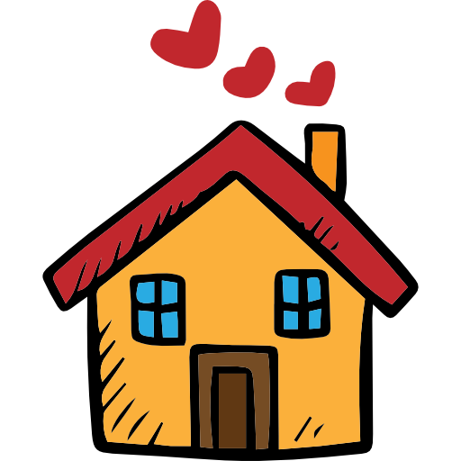 Cartoon house png. Free buildings icons icon