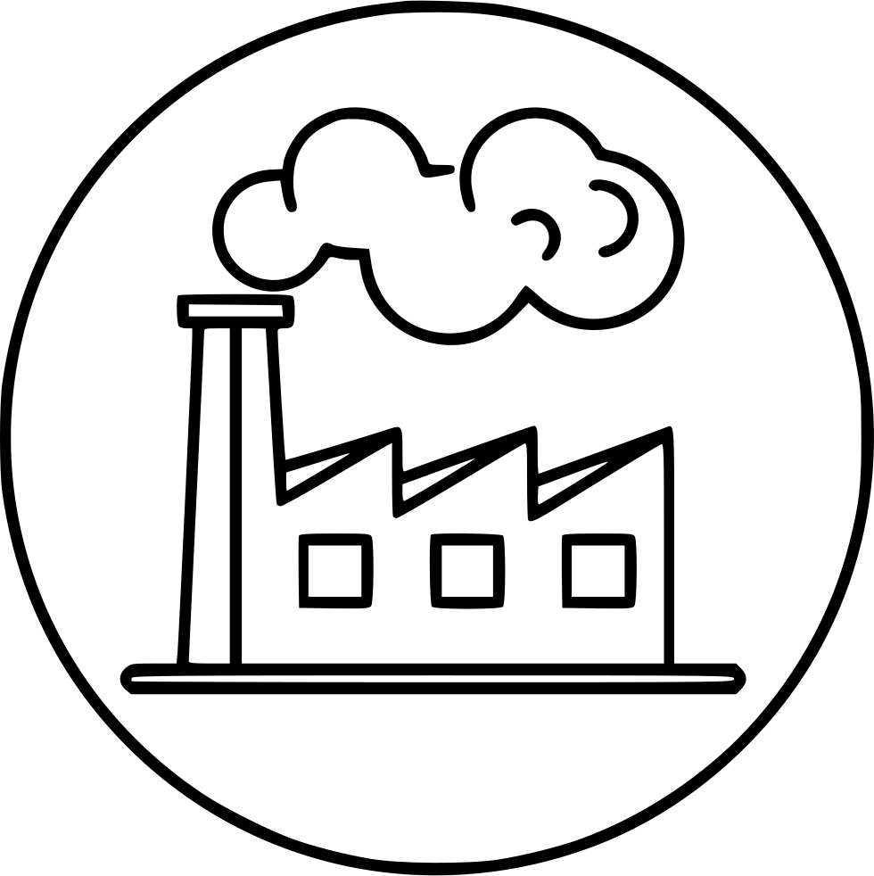 Cartoon smoke png. Factory industry polution svg