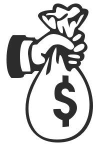 Cash clipart. Free sack o graphics