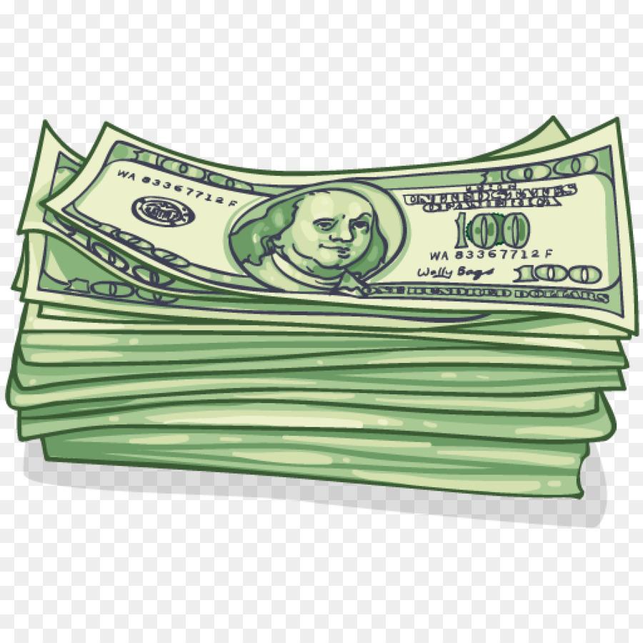 Green grass background money. Cash clipart