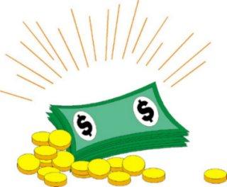 cash clipart animation