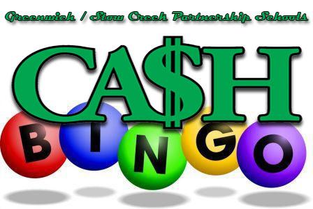 th grade fundraiser. Cash clipart bingo