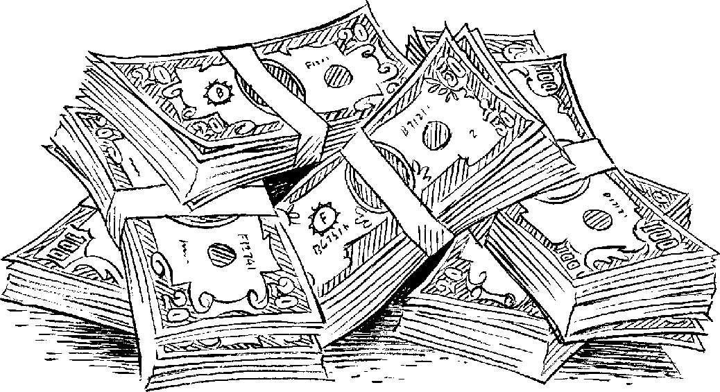 Letters pencil in color. Cash clipart black and white