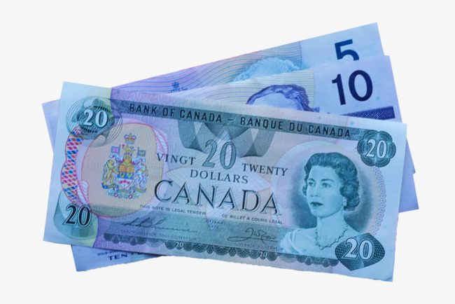 Cash clipart cash canadian. Several different denominations of
