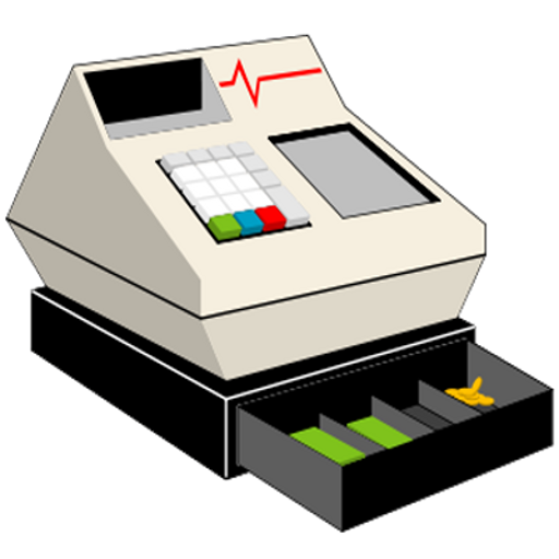 Cash clipart cash register. Amazon com my appstore