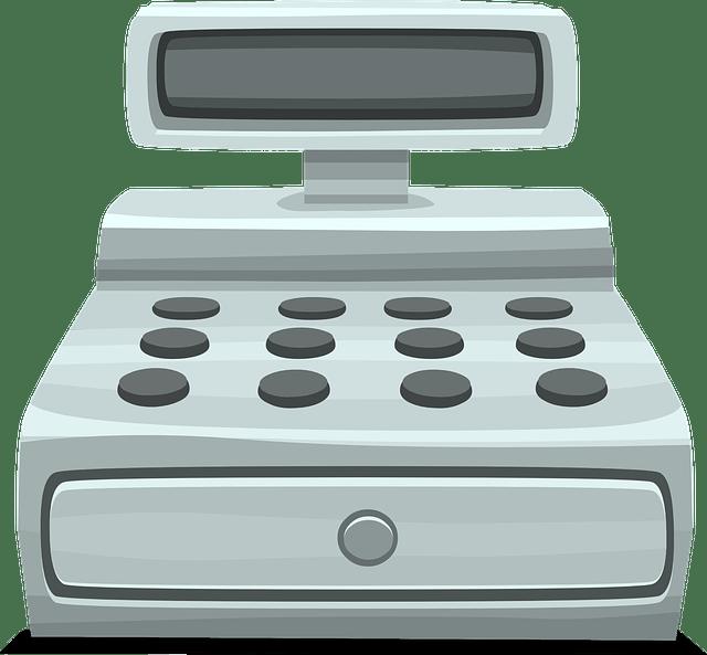 Cash clipart cash register. Transparent png stickpng