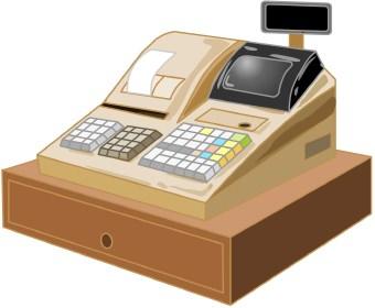 Clip art . Cash clipart cash register