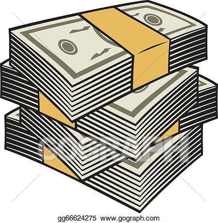 cash clipart cash stack
