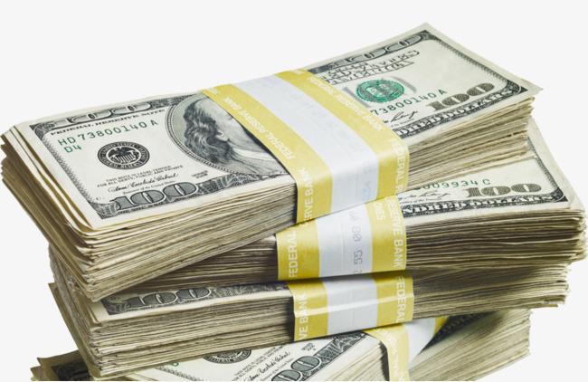 Money of png image. Cash clipart cash stack