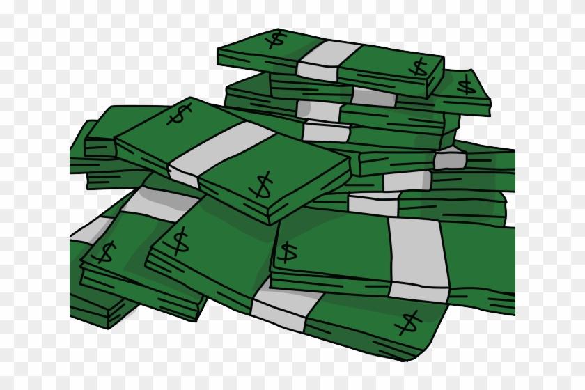 Cash clipart cash stack. Stacks of money hd