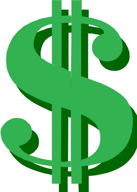 Campaign finance reports come. Cash clipart cost
