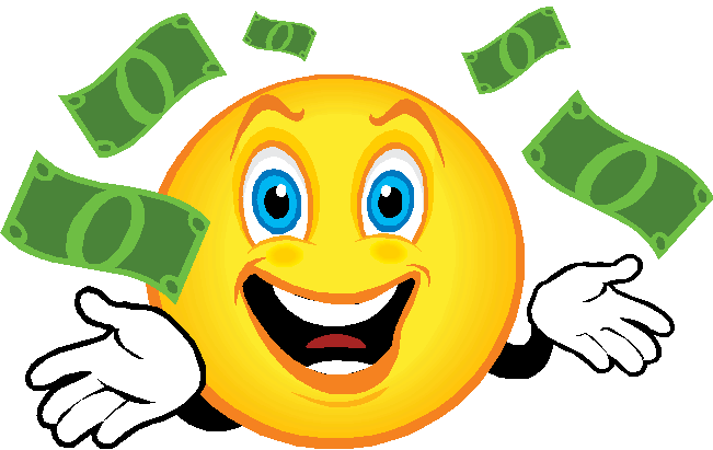 collection of happy. Cash clipart cute
