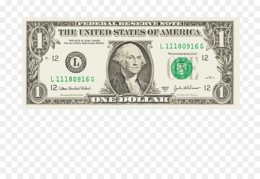 Cash clipart dollar bill. United states one onedollar